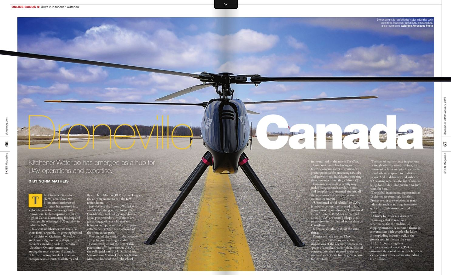 Skies Article Droneville Canada