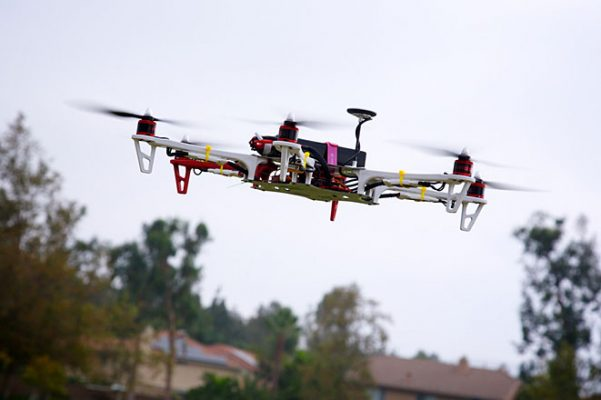 Drones to be used for treating accident victims