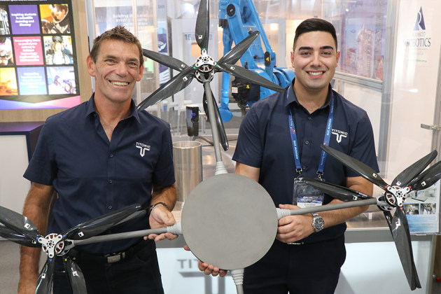 Titomic creates world's largest titanium UAV
