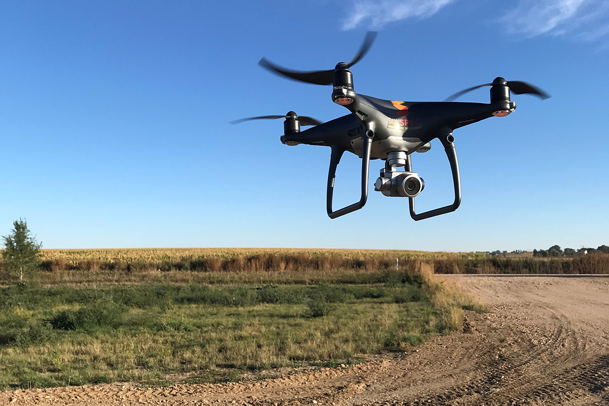 How are drones being used for pipeline inspections?